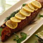 ماهی قزل آلا سوخاری