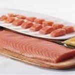 ماهی سالمون منجمد